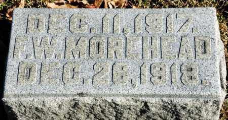 MOREHEAD, F W - Richland County, Ohio   F W MOREHEAD - Ohio Gravestone Photos