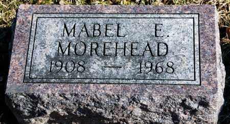 MOREHEAD, MABEL E - Richland County, Ohio | MABEL E MOREHEAD - Ohio Gravestone Photos