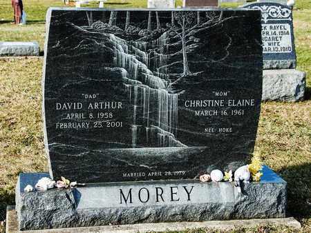 MOREY, DAVID ARTHUR - Richland County, Ohio | DAVID ARTHUR MOREY - Ohio Gravestone Photos
