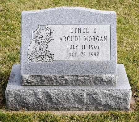ARCUDI MORGAN, ETHEL E - Richland County, Ohio | ETHEL E ARCUDI MORGAN - Ohio Gravestone Photos
