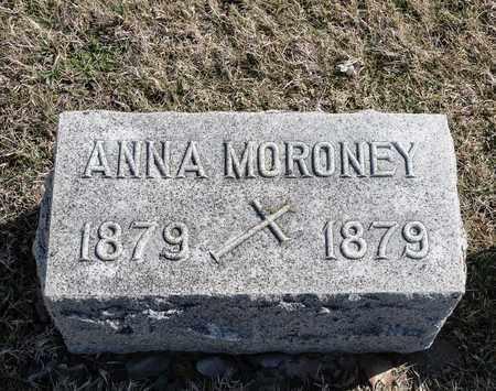 MORONEY, ANNA - Richland County, Ohio | ANNA MORONEY - Ohio Gravestone Photos