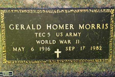 MORRIS, GERALD HOMER - Richland County, Ohio | GERALD HOMER MORRIS - Ohio Gravestone Photos