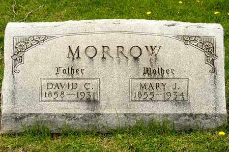 MORROW, MARY J - Richland County, Ohio | MARY J MORROW - Ohio Gravestone Photos