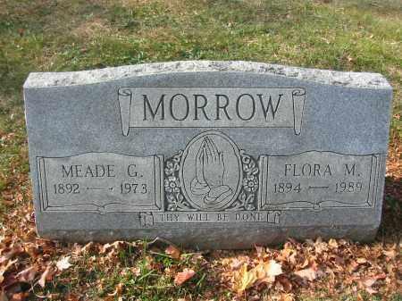 MORROW, MEADE - Richland County, Ohio | MEADE MORROW - Ohio Gravestone Photos