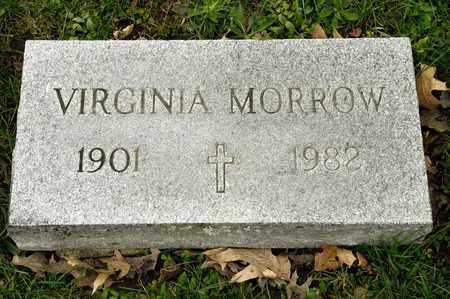 MORROW, VIRGINIA - Richland County, Ohio | VIRGINIA MORROW - Ohio Gravestone Photos