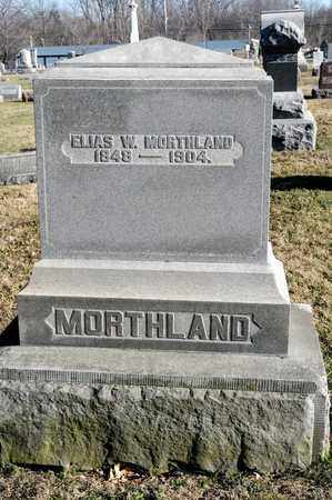MORTHLAND, ELIAS W - Richland County, Ohio | ELIAS W MORTHLAND - Ohio Gravestone Photos