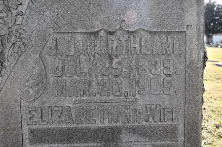 MORTHLAND, J D - Richland County, Ohio   J D MORTHLAND - Ohio Gravestone Photos