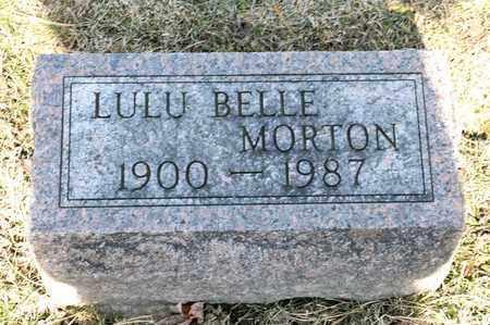 MORTON, LULU BELLE - Richland County, Ohio | LULU BELLE MORTON - Ohio Gravestone Photos