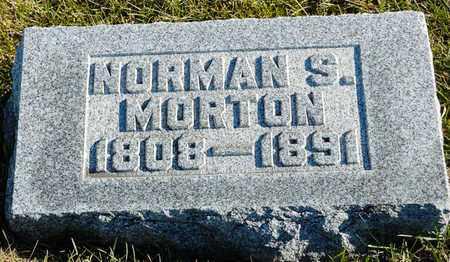 MORTON, NORMAN S - Richland County, Ohio   NORMAN S MORTON - Ohio Gravestone Photos