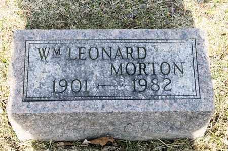 MORTON, WILLIAM LEONARD - Richland County, Ohio | WILLIAM LEONARD MORTON - Ohio Gravestone Photos