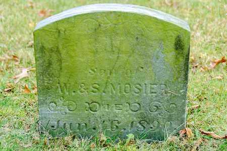 MOSIER, INFANT - Richland County, Ohio | INFANT MOSIER - Ohio Gravestone Photos