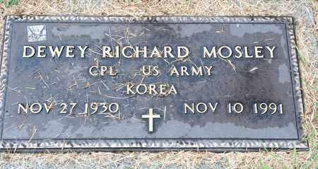 MOSLEY, DEWEY RICHARD - Richland County, Ohio | DEWEY RICHARD MOSLEY - Ohio Gravestone Photos
