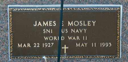 MOSLEY, JAMES E - Richland County, Ohio | JAMES E MOSLEY - Ohio Gravestone Photos