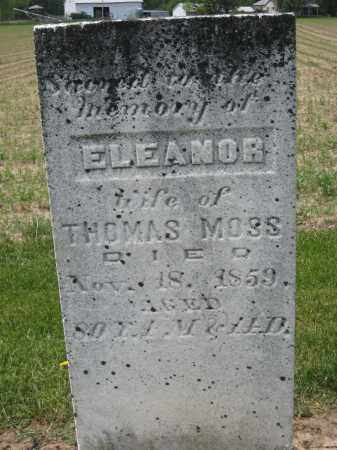 MOSS, THOMAS - Richland County, Ohio | THOMAS MOSS - Ohio Gravestone Photos