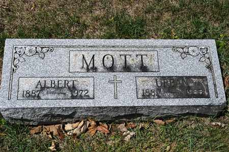 MOTT, URBAN - Richland County, Ohio | URBAN MOTT - Ohio Gravestone Photos