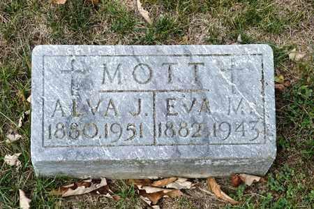 MOTT, ALVA J - Richland County, Ohio   ALVA J MOTT - Ohio Gravestone Photos