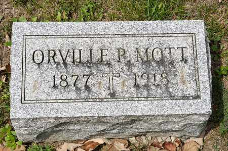 MOTT, ORVILLE P - Richland County, Ohio | ORVILLE P MOTT - Ohio Gravestone Photos