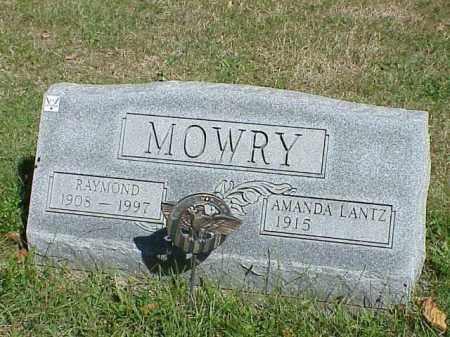 MOWRY, RAYMOND - Richland County, Ohio   RAYMOND MOWRY - Ohio Gravestone Photos