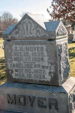MOYER, ANGELINE - Richland County, Ohio | ANGELINE MOYER - Ohio Gravestone Photos