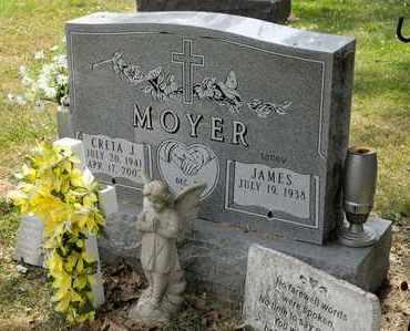 MOYER, CRETA - Richland County, Ohio | CRETA MOYER - Ohio Gravestone Photos