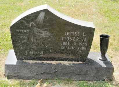 MOYER JR, JAMES E - Richland County, Ohio | JAMES E MOYER JR - Ohio Gravestone Photos