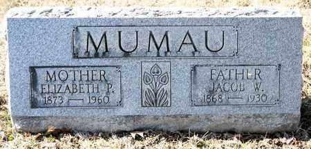 MUMAU, ELIZABETH P - Richland County, Ohio | ELIZABETH P MUMAU - Ohio Gravestone Photos