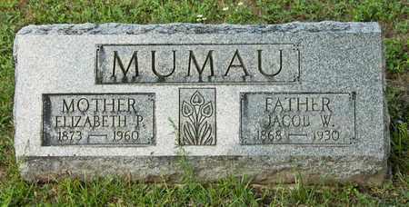 MUMAU, JACOB W - Richland County, Ohio | JACOB W MUMAU - Ohio Gravestone Photos