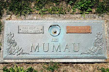 MUMAU, ROY A - Richland County, Ohio | ROY A MUMAU - Ohio Gravestone Photos