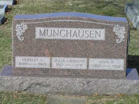 MUNCHAUSEN, ANNA - Richland County, Ohio | ANNA MUNCHAUSEN - Ohio Gravestone Photos