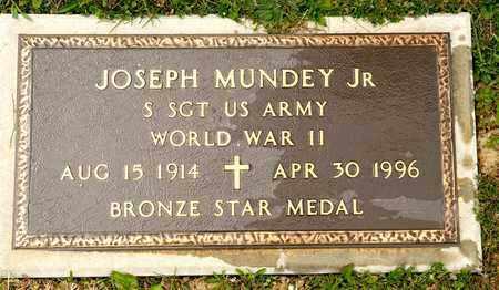MUNDEY JR, JOSEPH - Richland County, Ohio   JOSEPH MUNDEY JR - Ohio Gravestone Photos