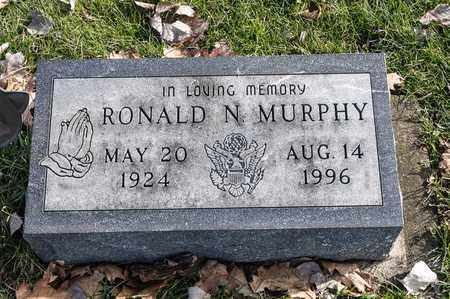 MURPHY, RONALD N - Richland County, Ohio | RONALD N MURPHY - Ohio Gravestone Photos