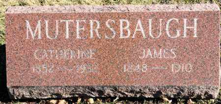 MUTERSBAUGH, JAMES - Richland County, Ohio | JAMES MUTERSBAUGH - Ohio Gravestone Photos