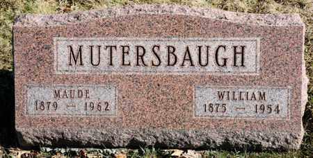 MUTERSBAUGH, WILLIAM - Richland County, Ohio | WILLIAM MUTERSBAUGH - Ohio Gravestone Photos