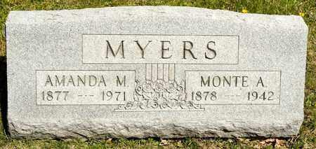 MYERS, MONTE A - Richland County, Ohio | MONTE A MYERS - Ohio Gravestone Photos