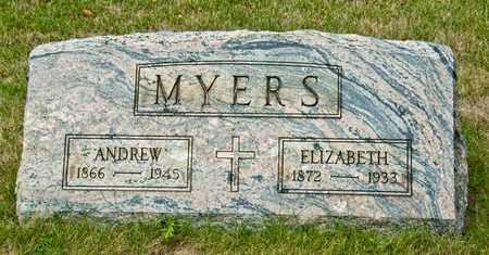 MYERS, ANDREW - Richland County, Ohio | ANDREW MYERS - Ohio Gravestone Photos
