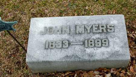 MYERS, JOHN - Richland County, Ohio | JOHN MYERS - Ohio Gravestone Photos