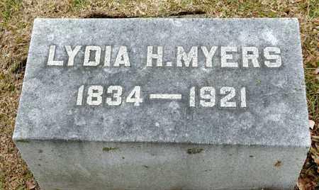 MYERS, LYDIA - Richland County, Ohio | LYDIA MYERS - Ohio Gravestone Photos