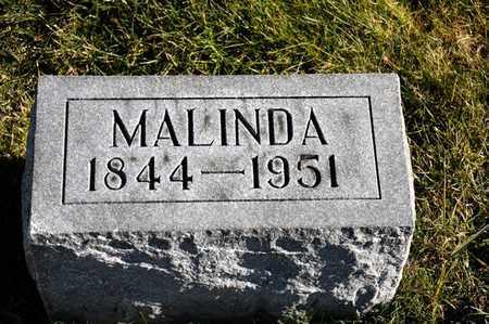 MYERS, MALINDA - Richland County, Ohio | MALINDA MYERS - Ohio Gravestone Photos