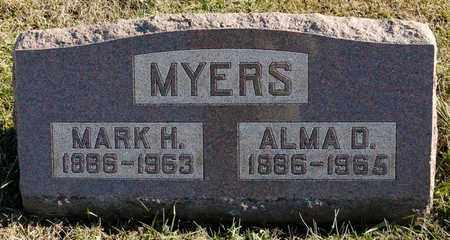 MYERS, ALMA D - Richland County, Ohio | ALMA D MYERS - Ohio Gravestone Photos