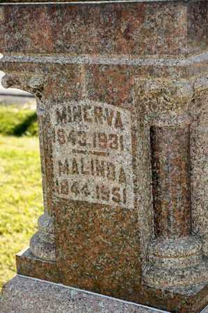 MYERS, MINERVA - Richland County, Ohio   MINERVA MYERS - Ohio Gravestone Photos