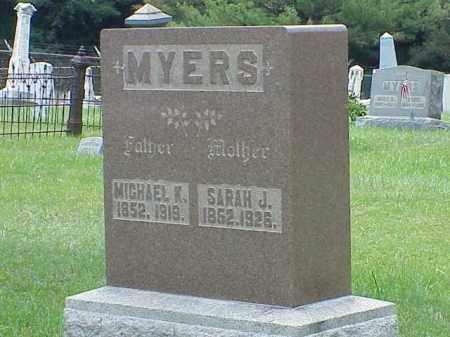 MYERS, MICHAEL K. - Richland County, Ohio | MICHAEL K. MYERS - Ohio Gravestone Photos