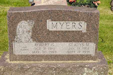 MYERS, ROBERT G - Richland County, Ohio | ROBERT G MYERS - Ohio Gravestone Photos