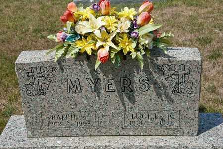 MYERS, RALPH H - Richland County, Ohio | RALPH H MYERS - Ohio Gravestone Photos