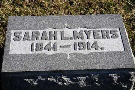 MYERS, SARAH L - Richland County, Ohio | SARAH L MYERS - Ohio Gravestone Photos