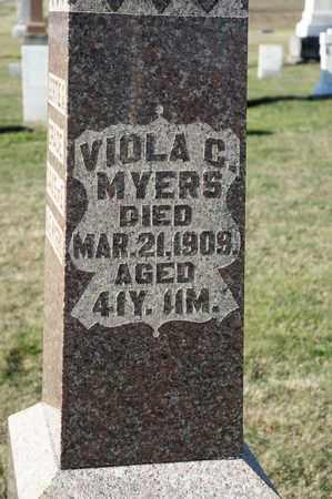 MYERS, VIOLA C - Richland County, Ohio | VIOLA C MYERS - Ohio Gravestone Photos