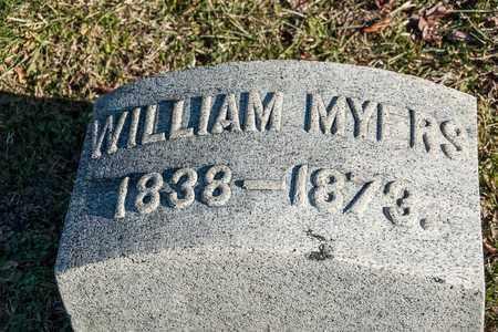 MYERS, WILLIAM - Richland County, Ohio   WILLIAM MYERS - Ohio Gravestone Photos