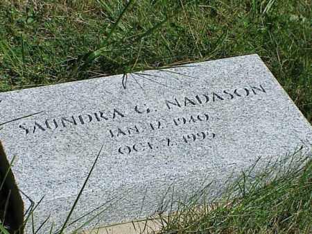 NADASON, SAUNDRA G. - Richland County, Ohio   SAUNDRA G. NADASON - Ohio Gravestone Photos
