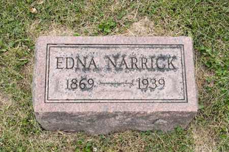 NARRICK, EDNA - Richland County, Ohio   EDNA NARRICK - Ohio Gravestone Photos