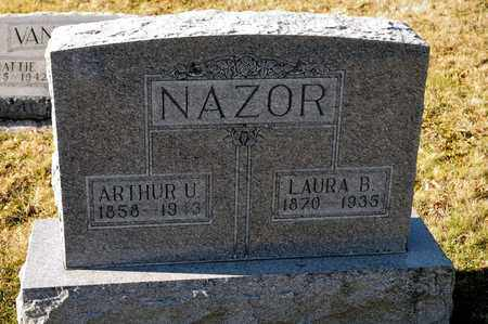 NAZOR, ARTHUR U - Richland County, Ohio | ARTHUR U NAZOR - Ohio Gravestone Photos