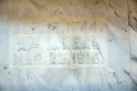 NEAL, WILLIAM L - Richland County, Ohio | WILLIAM L NEAL - Ohio Gravestone Photos